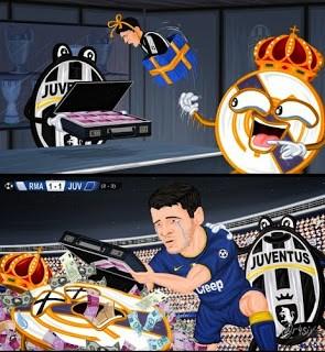 Los mejores memes del Juventus-Real Madrid: Semis Champions morata