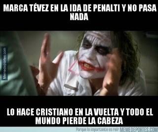 Los mejores memes del Real Madrid-Juventus: Champions the joker