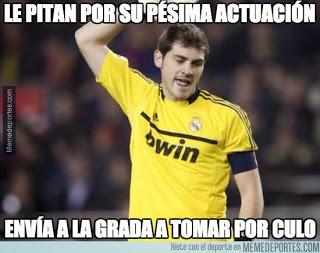 Los mejores memes del Real Madrid-Valencia: Jornada 36 casillas