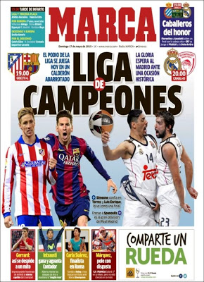 Portada Marca: Liga de Campeones