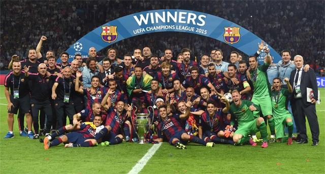 BARCELONA CAMPEÓN CHAMPIONS LEAGUE 2015