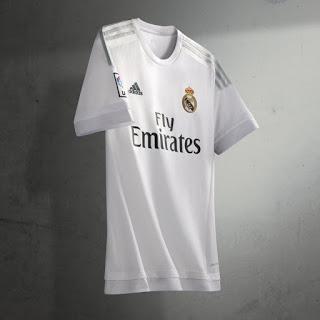 La nueva camiseta del Real Madrid: Temporada 2015-2016
