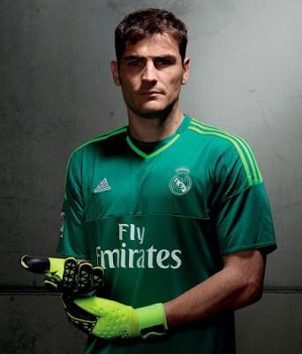 Iker casillas La nueva camiseta del Real Madrid: Temporada 2015-2016