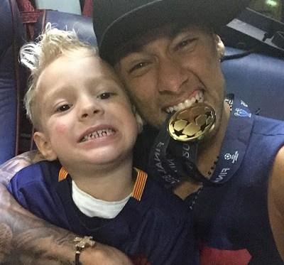 neymar hijo champions league 2015