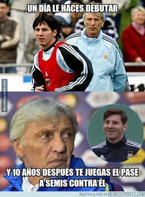 Los mejores memes del Argentina-Colombia