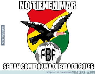 Chile-Bolivia. Copa América  memes