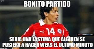 Los memes del Chile-México  copa america