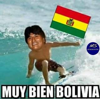 Ecuador-Bolivia memes copa america evo morales