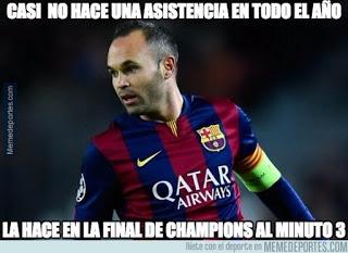 chistes carteles Juventus-Barcelona: Final Champions 2015