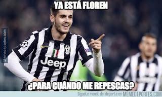Los mejores memes Juventus-Barcelona: Final Champions 2015 morata gol