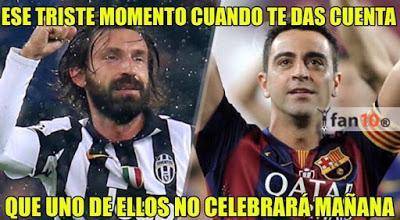 Los mejores memes Juventus-Barcelona: Final Champions 2015