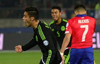 Chile 3-México 3. Copa América 2015 Grupo A