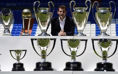 La despedida de Iker Casillas en el Bernabéu: imágenes copas champions  ligas