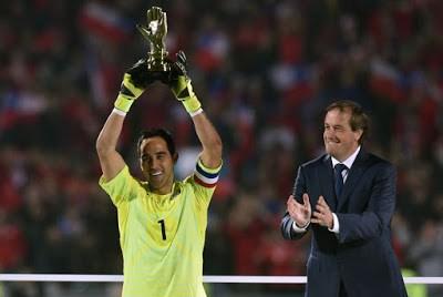 Las imágenes de Chile Campeón de América 2015 claudio bravo