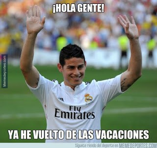 Los mejores memes del Inter-Real Madrid. International Champions Cup james