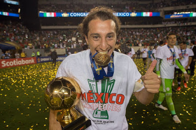 México Campeón de la Copa de Oro 2015 guardado mejor jugador Andrés Guardado