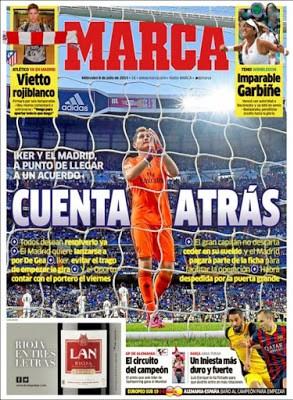Portada Marca: Iker Casillas
