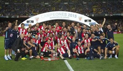 Las mejores imágenes del Athletic Supercampeón de España 2015