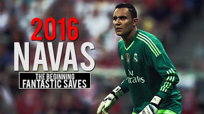 Keylor Navas Temporada 2015-2016, las mejores paradas. The Beginning of the season. Fantastic Saves  real madrid