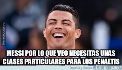 Los mejores memes del Athletic Bilbao-Barcelona: Jornada 1 cristiano ronaldo