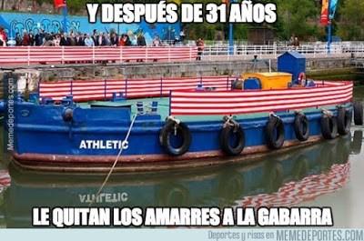 Los mejores memes del Barcelona-Athletic: Supercopa 2015 gabarra