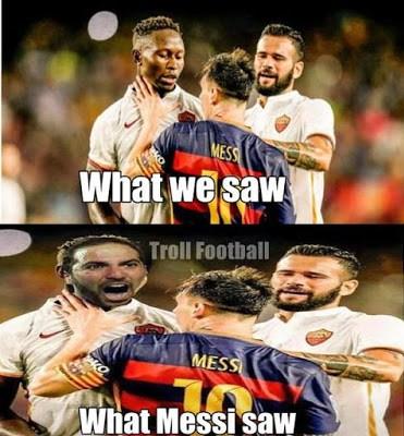Los mejores memes del Barcelona-Roma. Trofeo Gamper