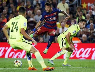 Barcelona 4-Levante 1. Jornada 4 Liga Española