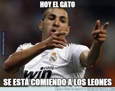 Los mejores memes del Athletic Bilbao-Real Madrid: Jornada 5 gato benzema
