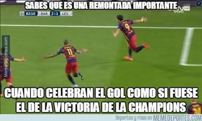 Los mejores memes del Barcelona-Bayer Leverkusen: Champions 2015 suarez gol