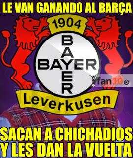 Los mejores memes del Barcelona-Bayer Leverkusen: Champions 2015 chicharito