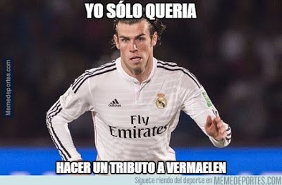 Los mejores memes del Real Madrid-Shakhtar: Champions 2015 bale lesion