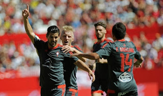 Sevilla 1-Celta de Vigo 2. Jornada 4 Liga Española