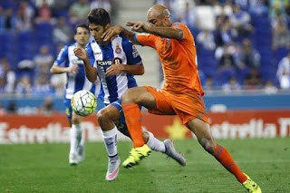 Espanyol 1-Valencia 0. Jornada 5 Liga Española