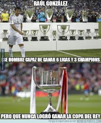Los mejores memes del sorteo de la Copa del Rey raul gonzalez