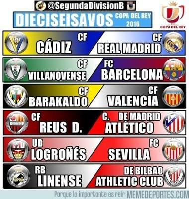Los mejores memes del sorteo de la Copa del Rey 2015-2016