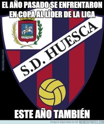 Los mejores memes del sorteo de la Copa del Rey huesca