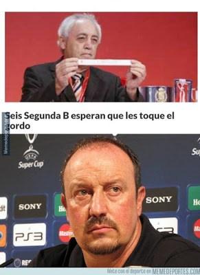Los mejores memes del sorteo de la Copa del Rey 2015-2016 rafa benitez el gordo