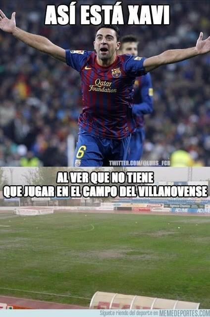 Los mejores memes del Villanovense-Barcelona: Copa del Rey