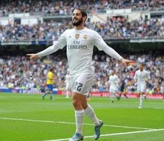 Real Madrid 3-Las Palmas 1. Jornada 10 Liga Española