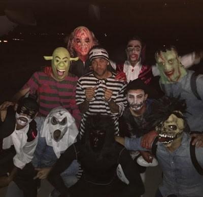 Los jugadores del Barça festejaron Halloween a lo grande Barçaween