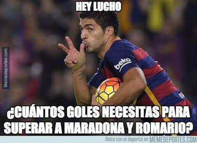 Los mejores memes del Barcelona-BATE: Champions 2015 luis suarez