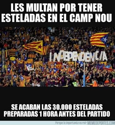 Los mejores memes del Barcelona-BATE: Champions 2015 independencia esteladas