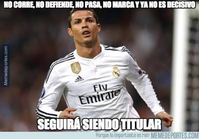 Los mejores memes del Sevilla-Real Madrid: Jornada 11 cristiano ronaldo