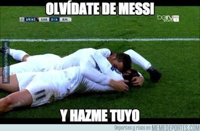 Los memes graciosos del Shakhtar-Real Madrid: Champions 2015 amor ronaldo bale beso abrazo