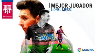 Premios La Liga 2015: Lionel Messi mejor jugador Liga Española