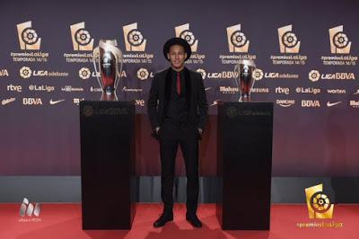 Imágenes de la gala Premios La Liga 2014-2015  neymar