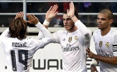 Eibar 0-Real Madrid 2. Jornada 13 Liga Española