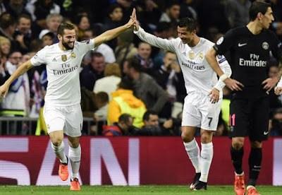 Real Madrid 1-PSG 0. Champions League