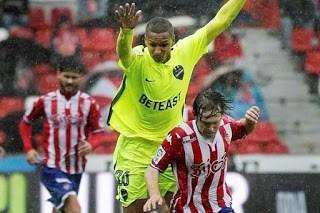Sporting Gijón 0-Levante 3. Jornada 12 Liga Española