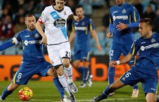 Getafe 0-Deportivo la Coruña 0. Jornada 17 Liga Española